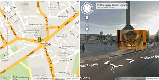 Street View Overlay
